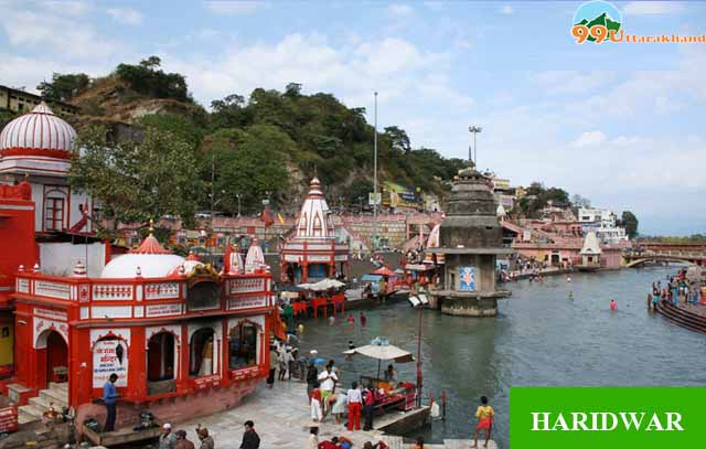 Tourist places in Haridwar