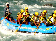 Rafting in Uttarakhand, India